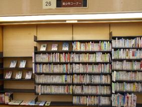 中央図書館 児童室『青少年コーナー』の写真